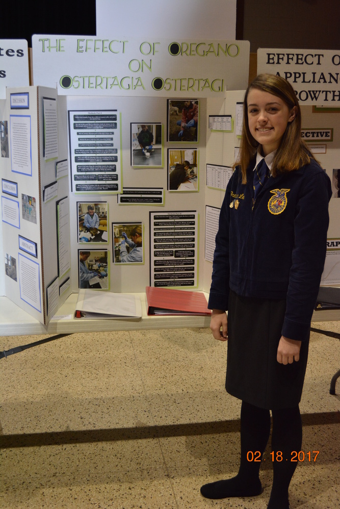 Agriscience Fair - Gretchen Lee
