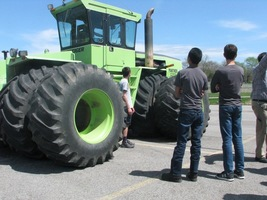 FFA Tractor and Tree Day