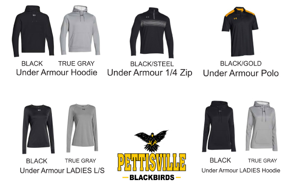 2017 Pettisville Spirit Wear