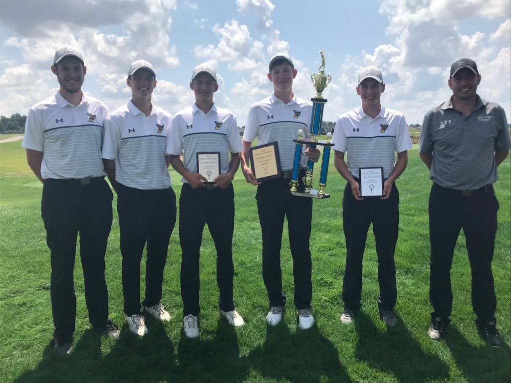 Woodmore Wildcat Golf Invite Champions